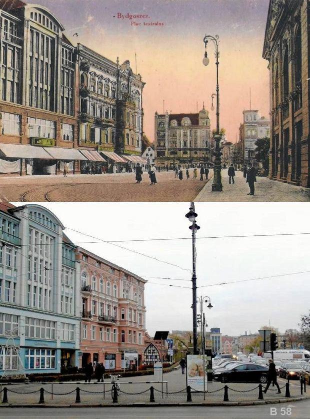 Zdjęcie numer 15 w galerii - Bydgoszcz wczoraj i dziś. Te same miejsca sfotografowane po latach