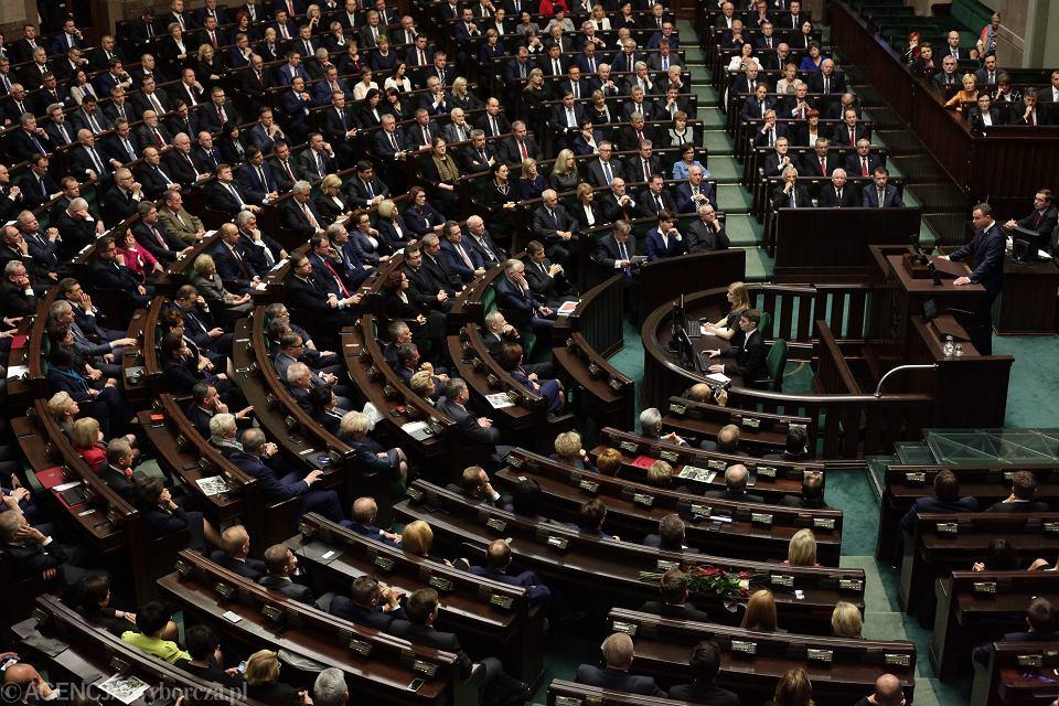 1Posiedzenie inauguracyjne Sejmu VIII kadencji