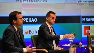 Mateusz Morawiecki podczas konferencji na temat przyszłości OFE