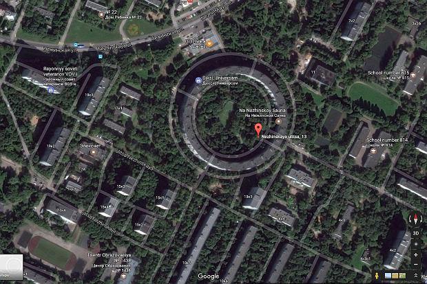 Bublik - niezwykły blok mieszkalny w Rosji