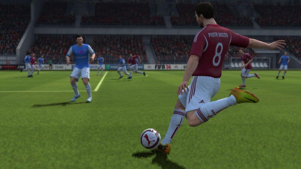 Symulacja derbów Krakowa - Fifa 14