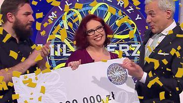 Katarzyna Kant-Wysocka wygrała milion w programie 'Milionerzy'