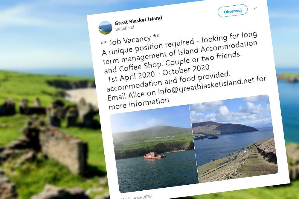 Szukają pracowników do prowadzenia kawiarni na bezludnej wyspie