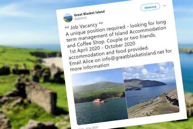 Praca na bezludnej wyspie brzmi absurdalnie? Niekoniecznie. Poszukiwane są osoby, które poprowadzą tam kawiarnię