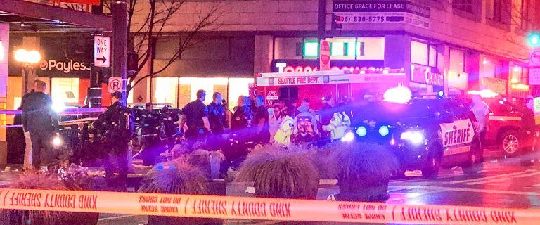 USA. Strzelanina w Seattle. Jedna osoba nie żyje, a siedem jest rannych