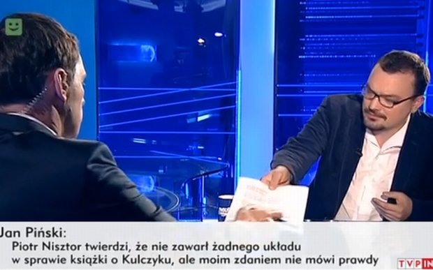 Jan Piński w TVP Info