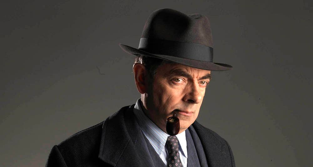 Rowan Atkinson jako Maigret