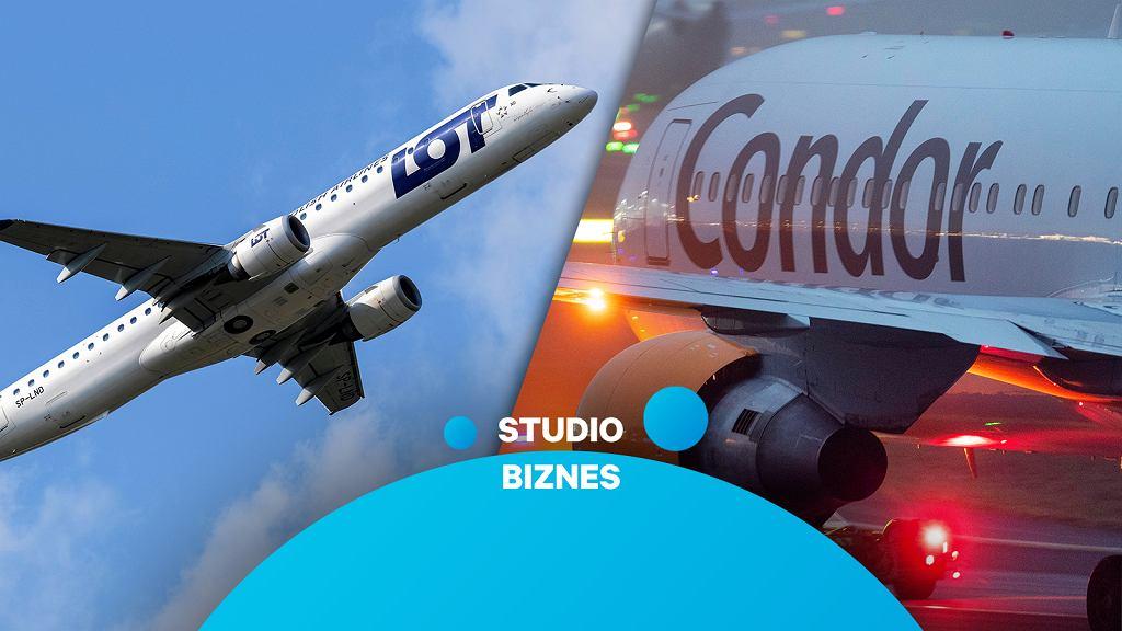 LOT przejmuje niemieckie linie Condor