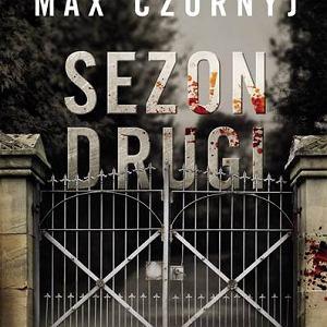 Max Czornyj - Sezon drugi (okładka książki)