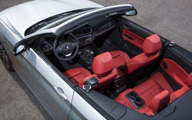 BMW serii 2 Cabrio - wnętrze