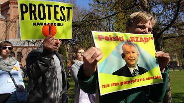 11. dzień strajku nauczycieli w Bydgoszczy