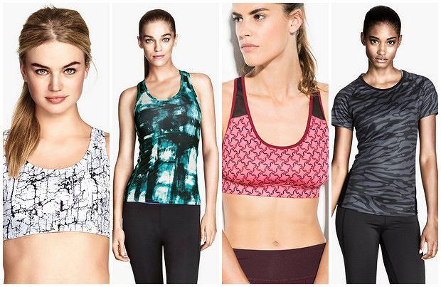 HIT: ubrania sportowe w kolorowe wzory