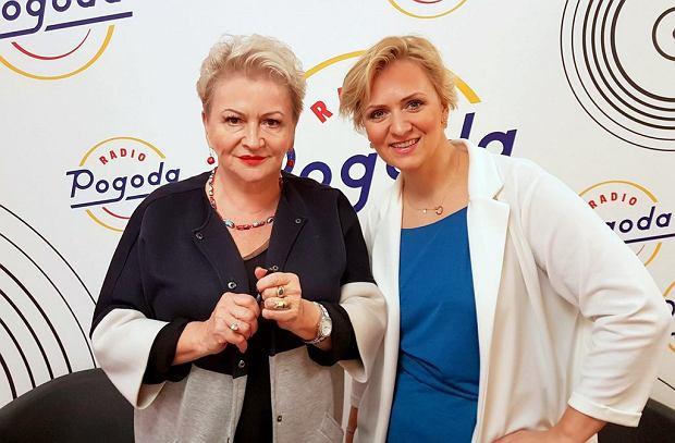 Hanna Bakuła i dziennikarka Radia Pogoda, Anna Stachowska