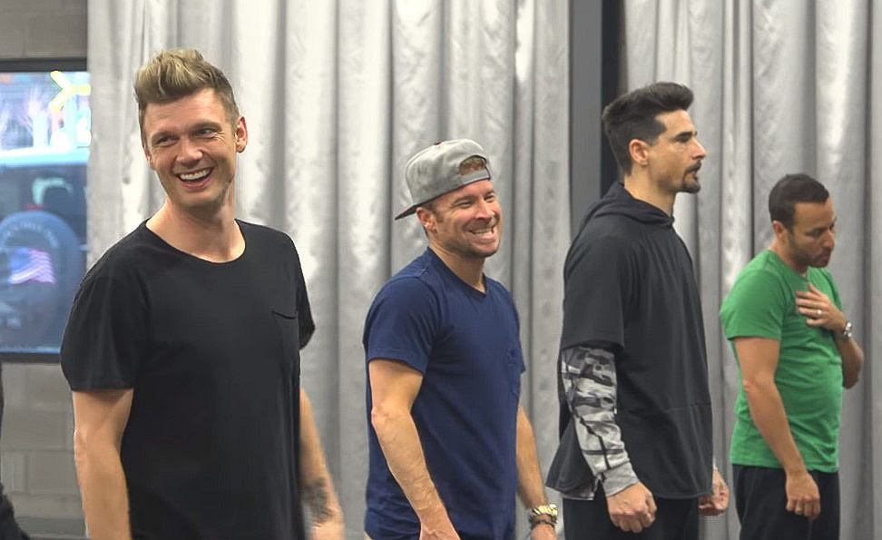 Backstreet Boys - DNA World Tour Rehearsals