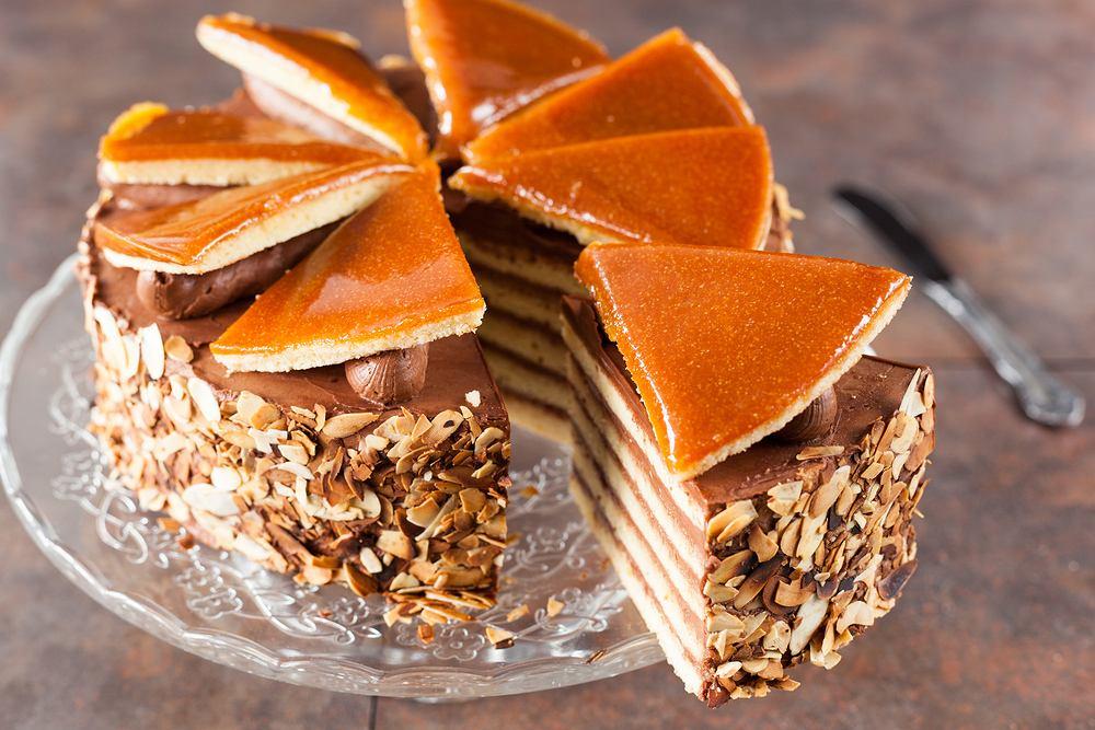 Tort Dobosa - węgierski przysmak