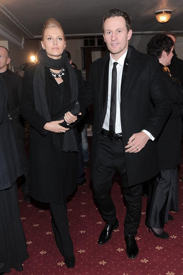 Mariusz Czerkawski z żoną