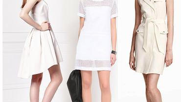 Biała sukienka na wakacje