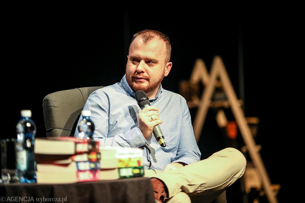 19 marca 2021. Wojciech Chmielarz goście, 'Salonu bezsenność' Kieleckiego Centrum Kultury