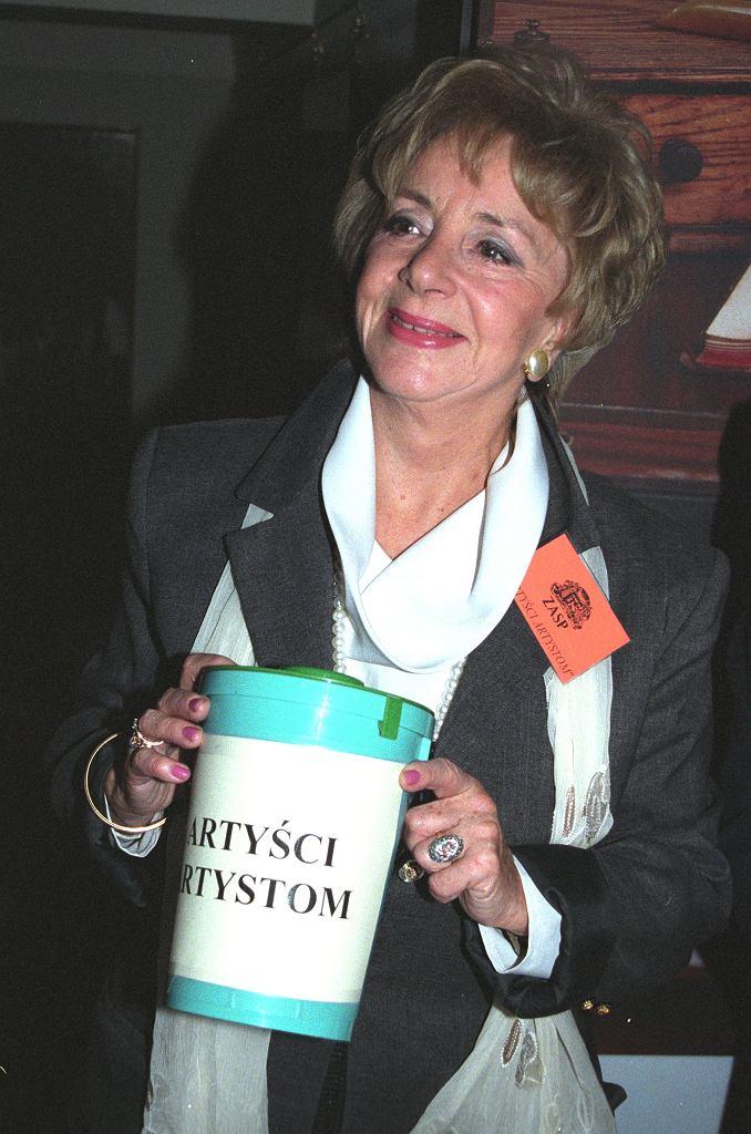 Zofia Czerwińska w 2002 roku