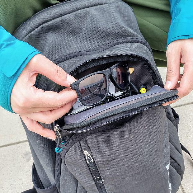 Komora Safe Zone plecaka Thule Stravan Daypack