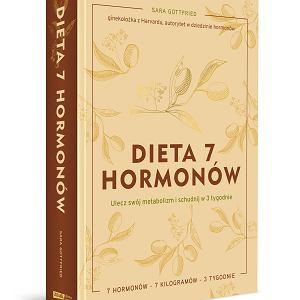 Dieta 7 hormonów, książka autorstwa dr Sary Gottfried, wydawnictwo Znak