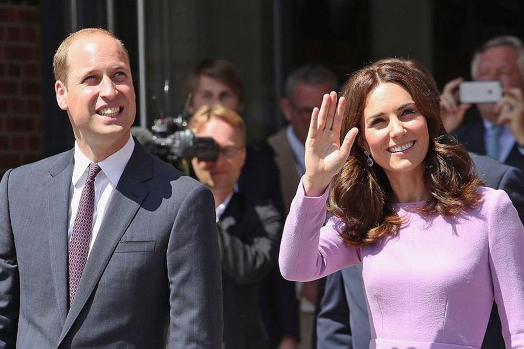 Kate Middleton i ksiażę William