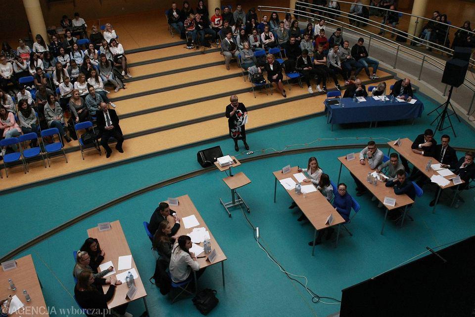Środowy półfinał szkół ponadgimnazjalnych odbył się w Zespole Szkół nr 5