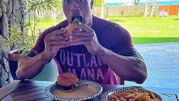 Dwayne Johnson jest na specjalnej diecie