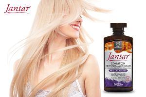 Nowość Jantar! Szampony z pigmentami rewitalizujące kolor włosów farbowanych