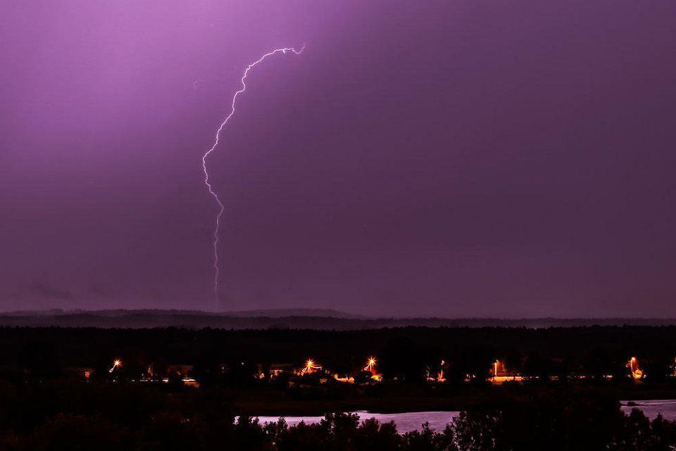 Burza nad Płockiem