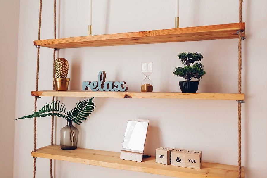 Litery ozdobne w mieszkaniu