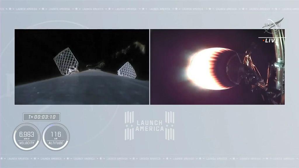 Crew Dragon od SpaceX zabrał w kosmos kolejne cztery osoby