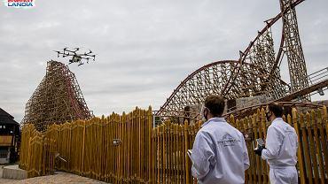 Specjalistyczny dron odkażający