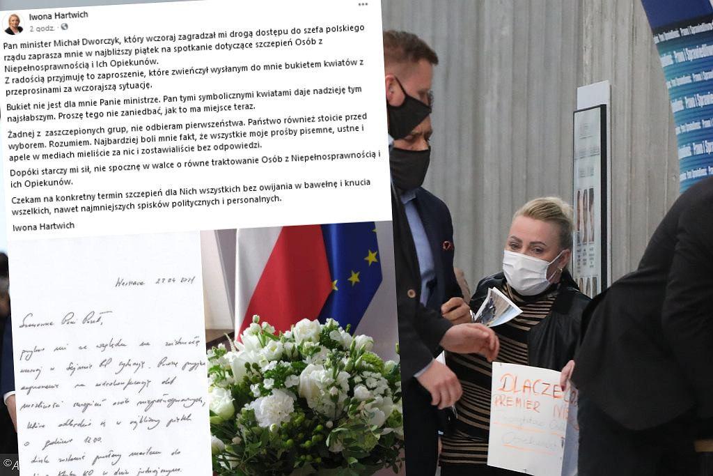 Hartwich: Minister Dworczyk zaprosił mnie na spotkanie ws. szczepień osób z niepełnosprawnością