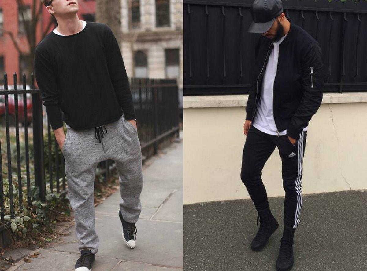 Spodnie dresowe w miejskim stylu