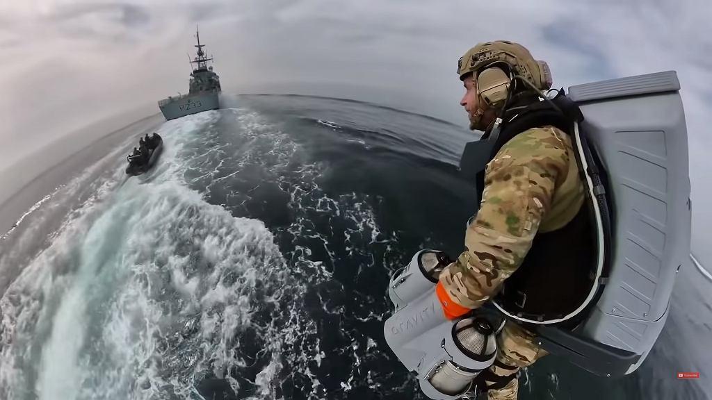 Brytyjskie wojsko testuje jet packi firmy Gravity Industries