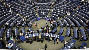Parlament Europejski w Strasbourgu. Francja , 3 lipca 2019