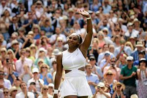 Serena Williams przebiła Simonę Halep! Awansowała do finału Wimbledonu jeszcze szybciej