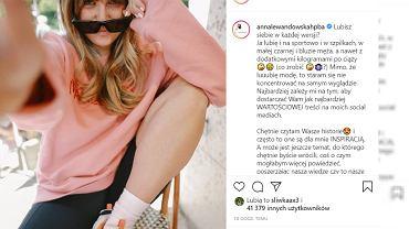 Anna Lewandowska po ciąży