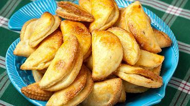 Twarogowe ciasteczka z jabłkami
