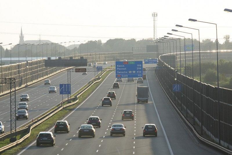 Generalny pomiar ruchu, autostrada
