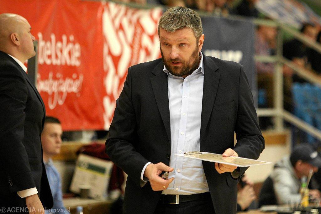 Trener Pszczółki AZS UMCS Krzysztof Szewczyk