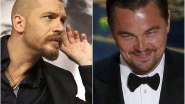 Tom Hardy, Leonardo DiCaprio
