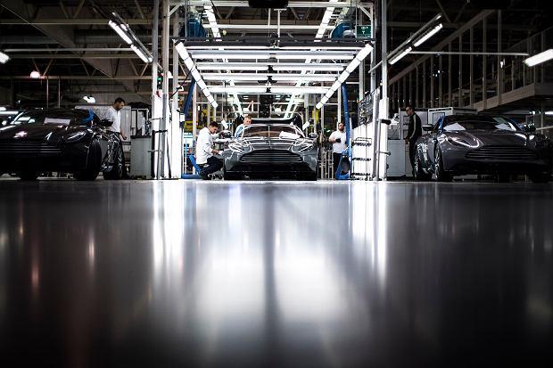 Aston Martin fabryka