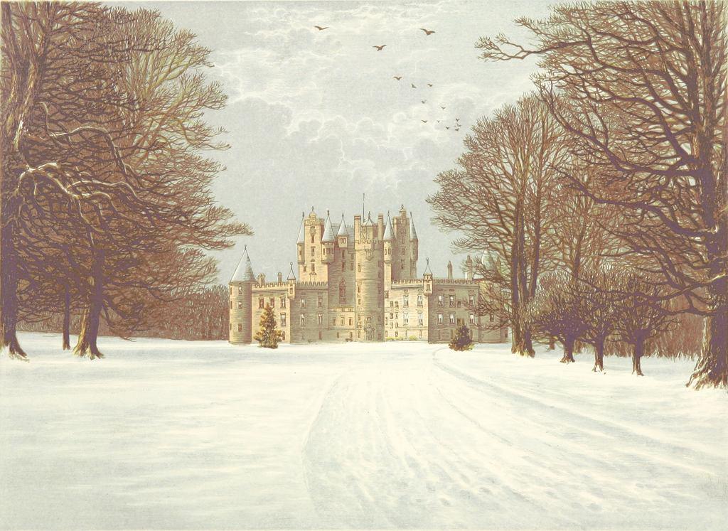 Zamek w Glamis