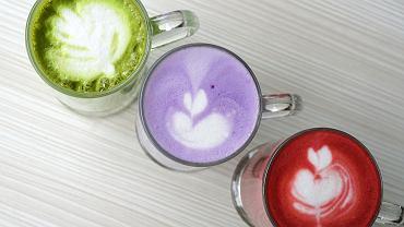 Owocowe 'latte'