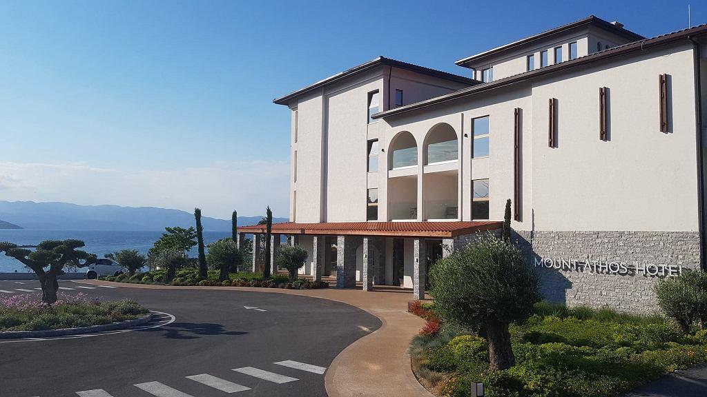 Hotel Mount Athos Resort w Ierissos pachnie nowością. Został otwarty w sierpniu ubiegłego roku