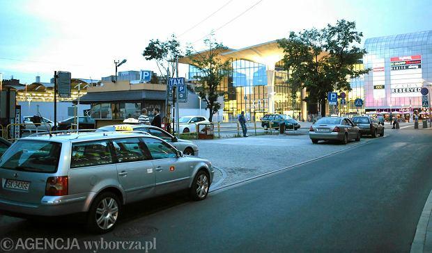 Postój taxi w Katowicach przy ul. Młyńskiej