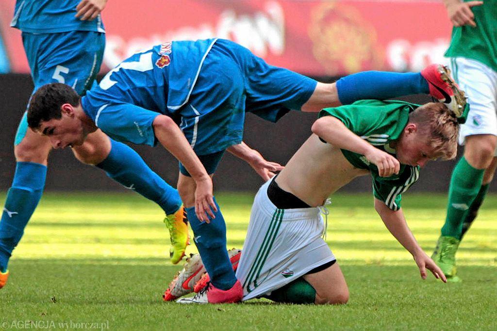 Mecz Lech - Legia w kategorii juniorów młodszych
