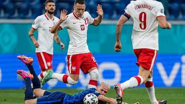 Mecz Polska - Słowacja na Euro 2020.